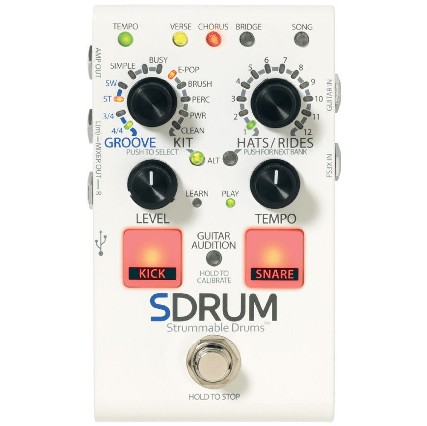 DigiTech SDRUM Strummable Drums PRIJSVERLAGING !!