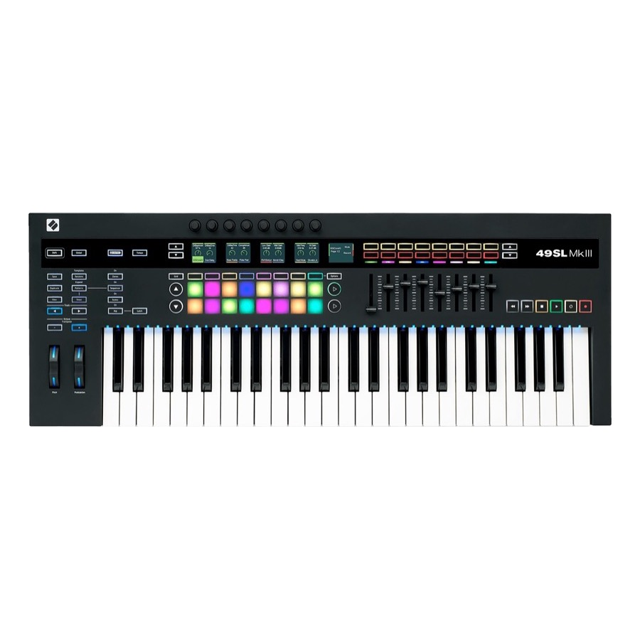 Novation 49 SL MKIII Midi controller NU IN DE AANBIEDING !!