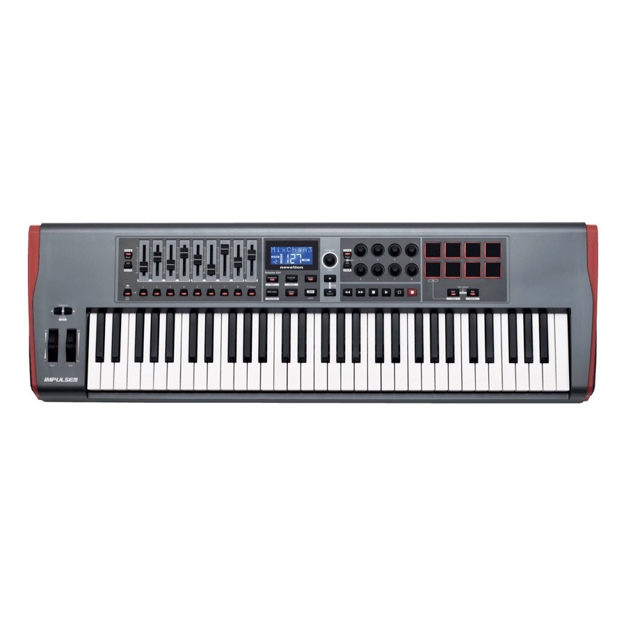 Novation Impulse 61 MIDI keyboard
