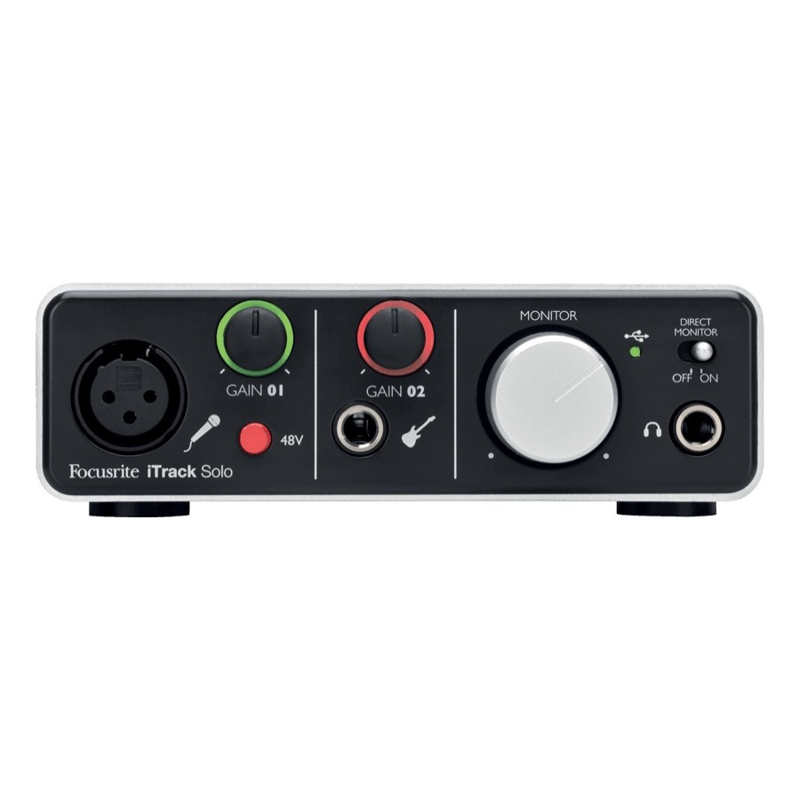 Focusrite iTrack Solo Lightning audiointerface