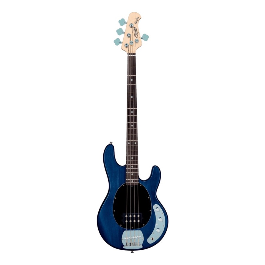 Sterling by Music Man - Stingray 4 Bas Transparent Blue Satin
