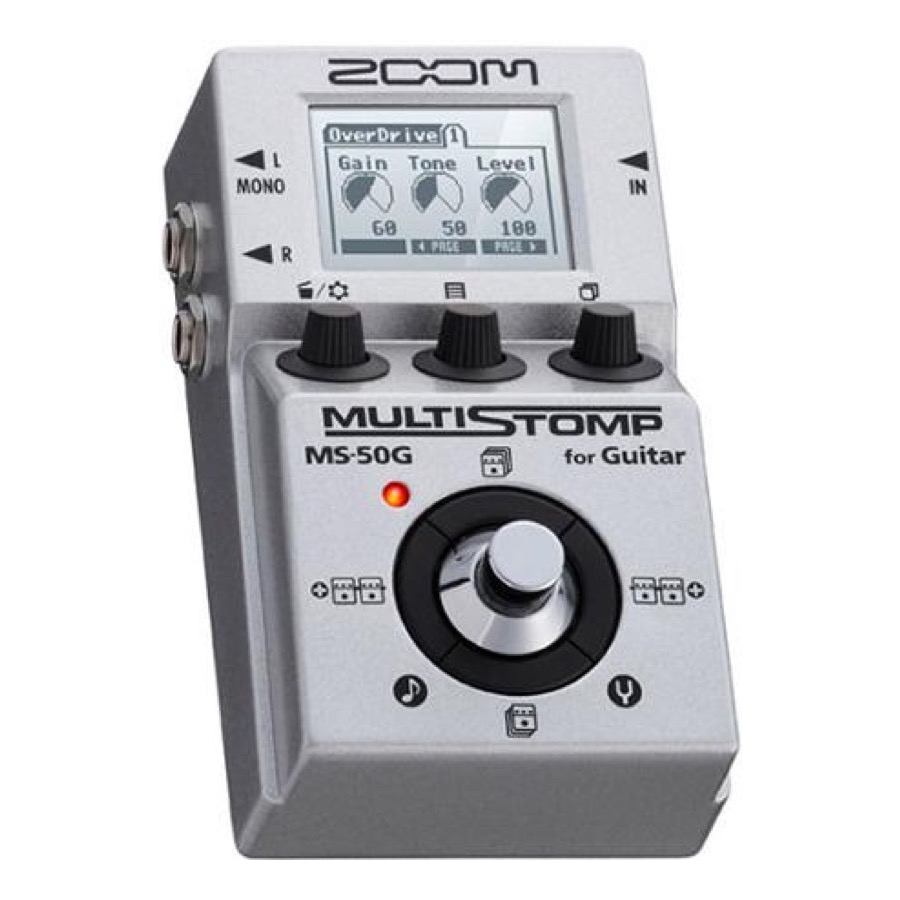 Zoom MS 50 G / MS 50G MultiStomp Guitar Pedal