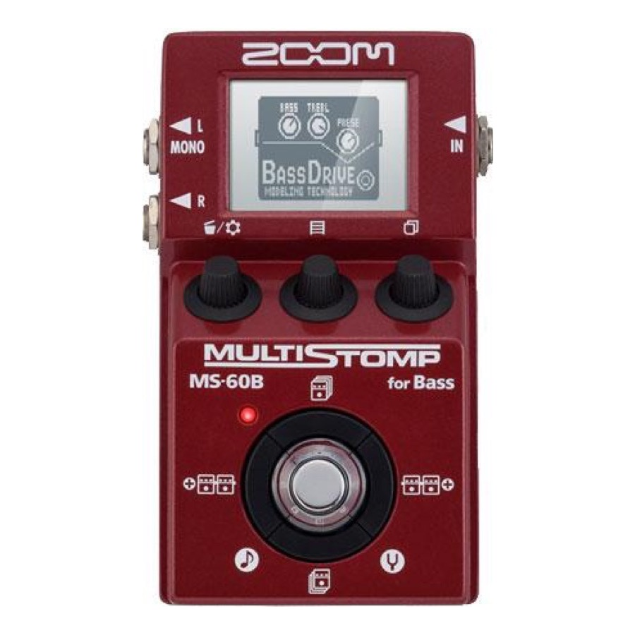 Zoom MS 60 B / MS 60B MultiStomp Bass Pedal
