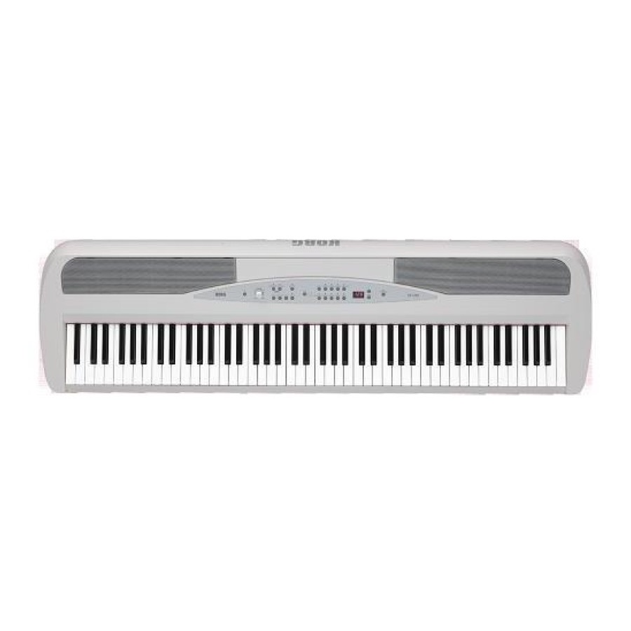 Korg SP 280 WH Digitale Piano wit