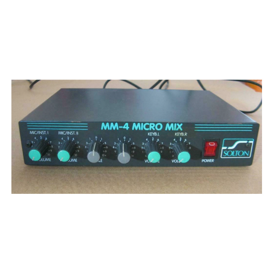Solton MM 4 Compact Mixer
