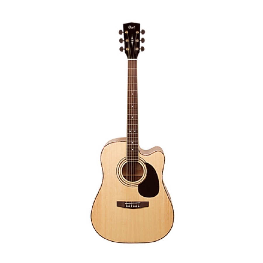 Cort AD 880 CE NS Dreadnought Electro Western Gitaar Natural Satin
