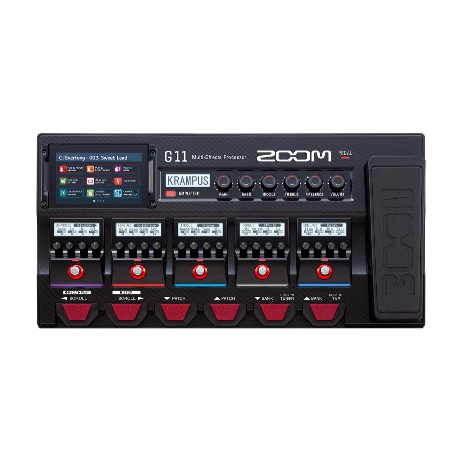 Zoom G 11 / G11 Multi Effects Guitar Processor