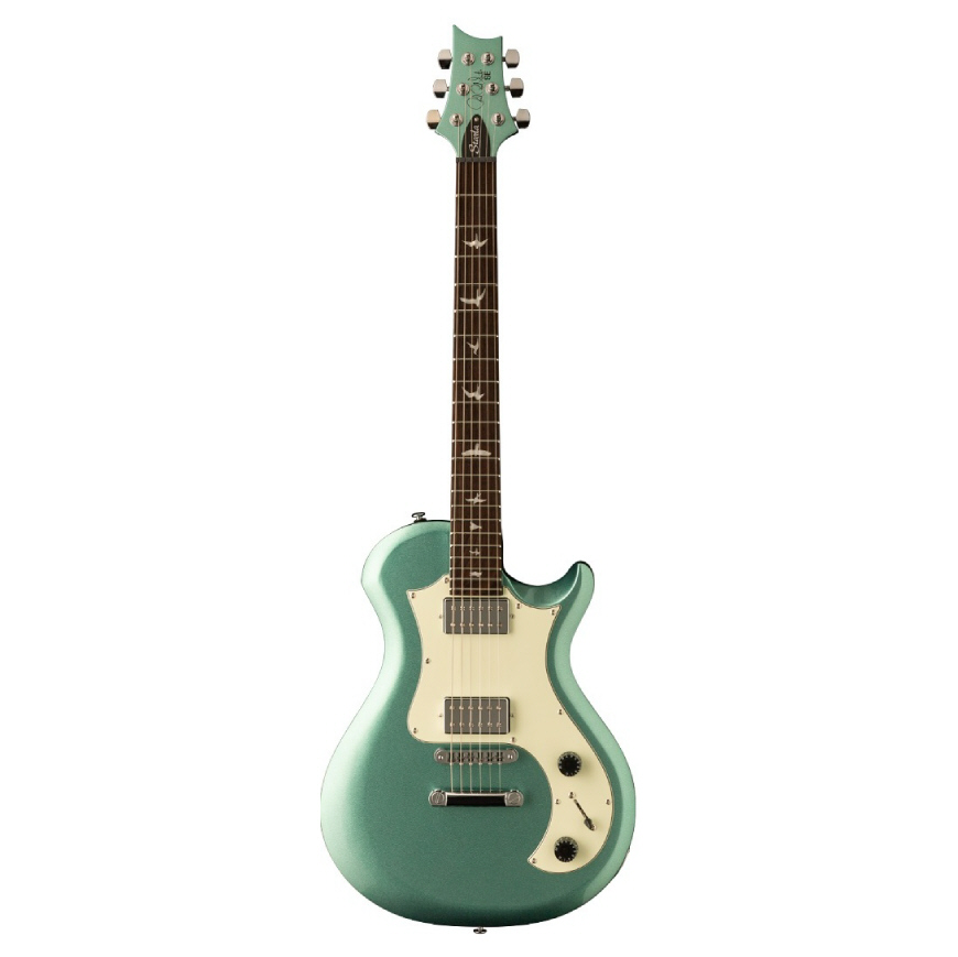 PRS SE Starla Stoptail Metallic Green with Mint Pickguard and Gig Bag