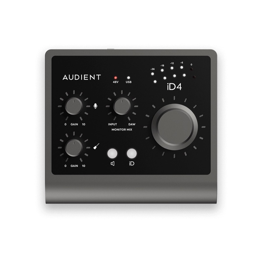Audient iD 4 MKII / iD4MKII High Performance Audio Interface NU IN VOORRAAD - PRIJSDALING !!